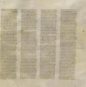 Codex Sinaiticus John 8